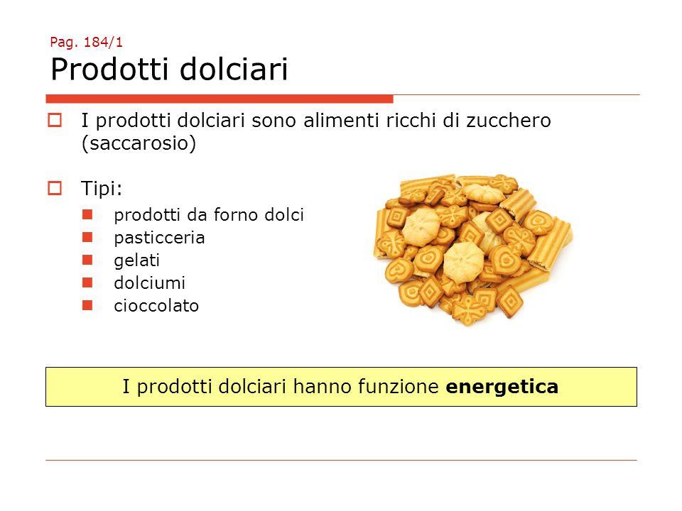 Pag. 184/1 Prodotti dolciari