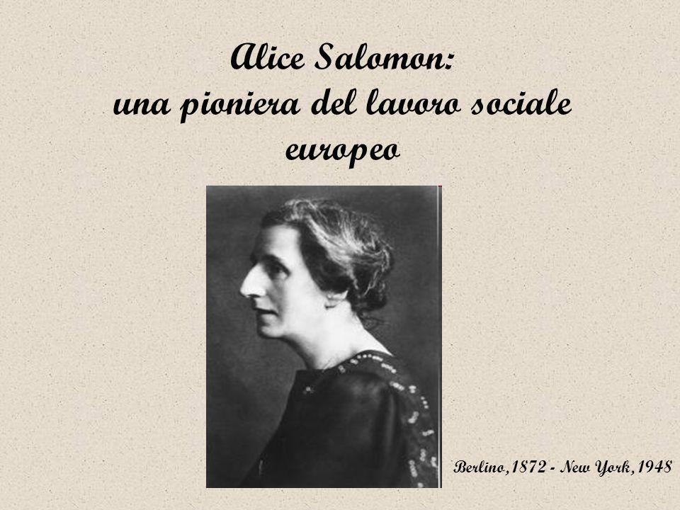 Alice Salomon: una pioniera del lavoro sociale europeo