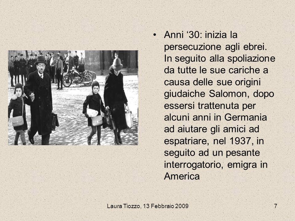 Anni '30: inizia la persecuzione agli ebrei
