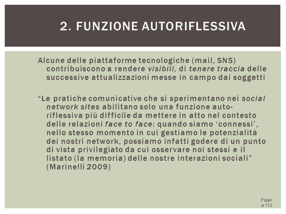 2. Funzione autoriflessiva
