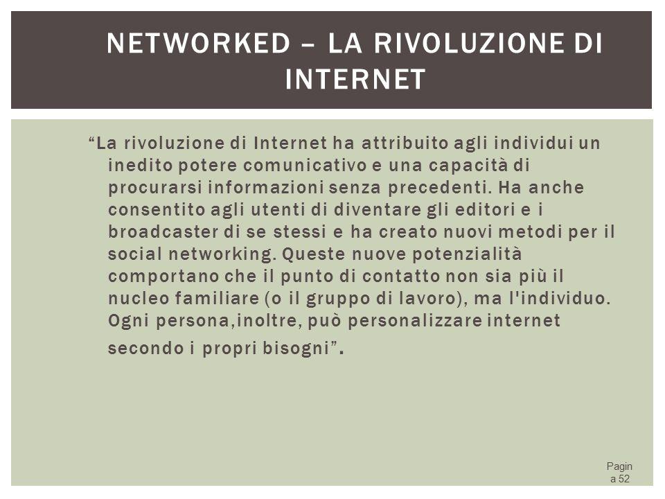 Networked – la Rivoluzione di Internet