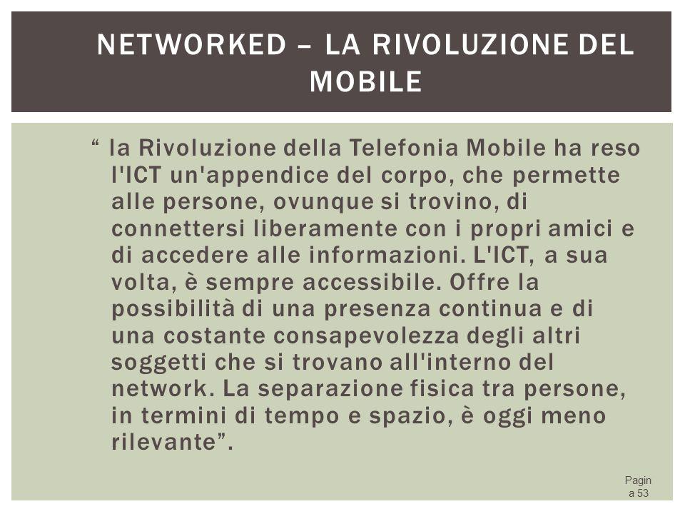 Networked – la Rivoluzione del Mobile