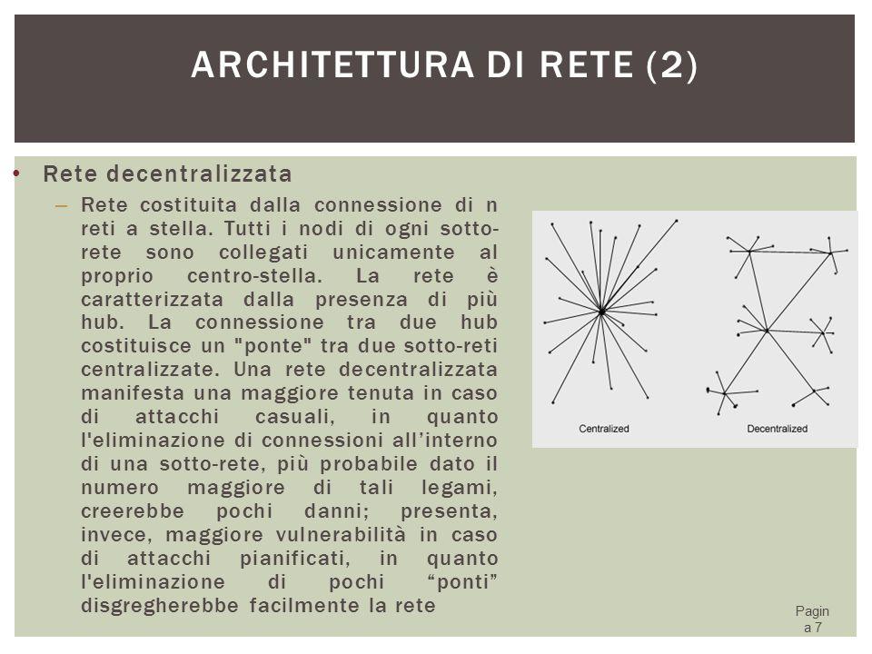 Architettura di rete (2)