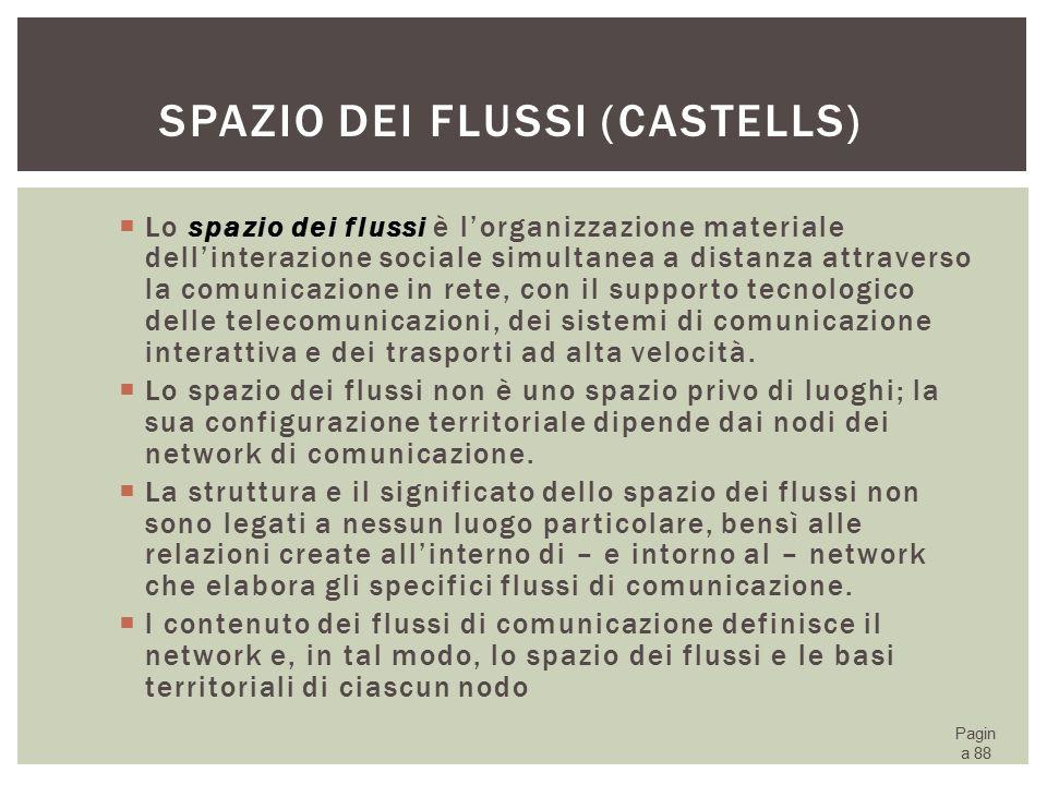 Spazio dei flussi (Castells)