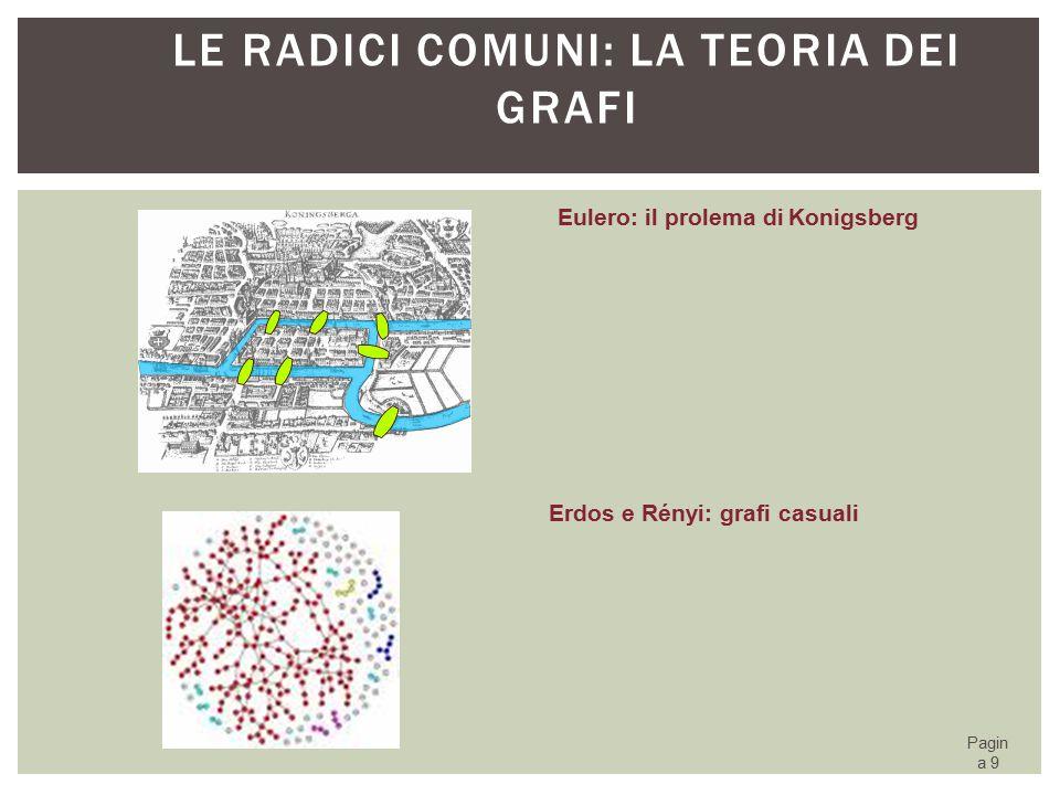 Le radici comuni: la teoria dei grafi