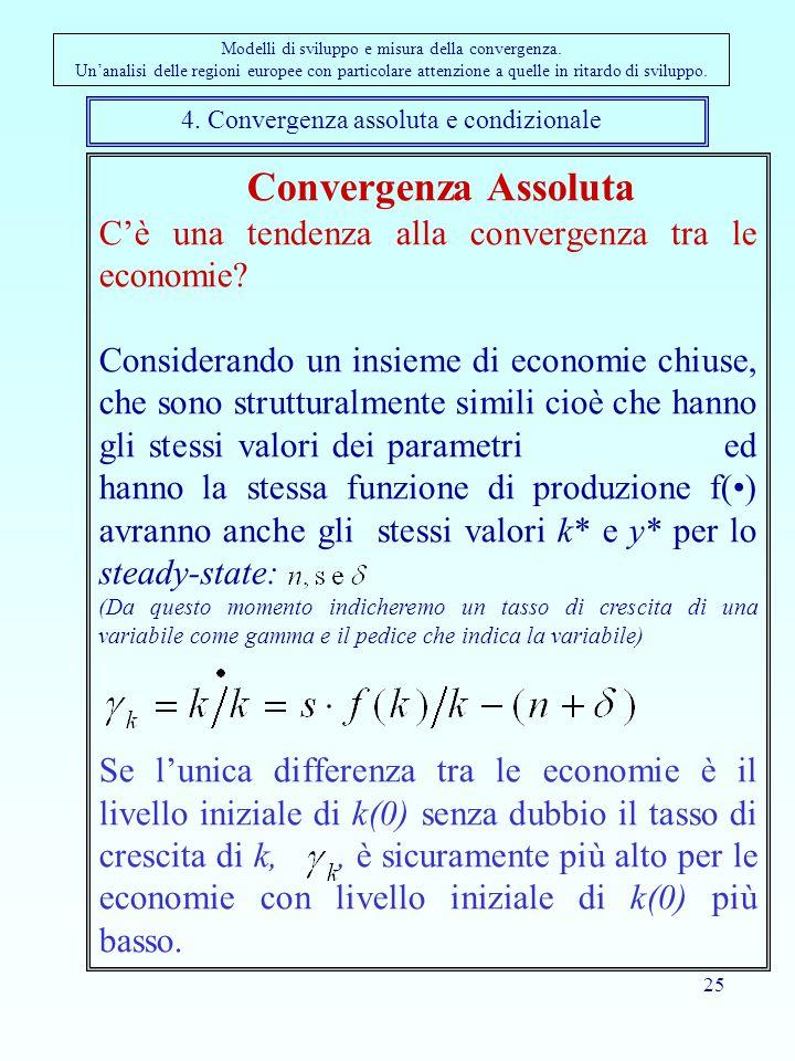 4. Convergenza assoluta e condizionale