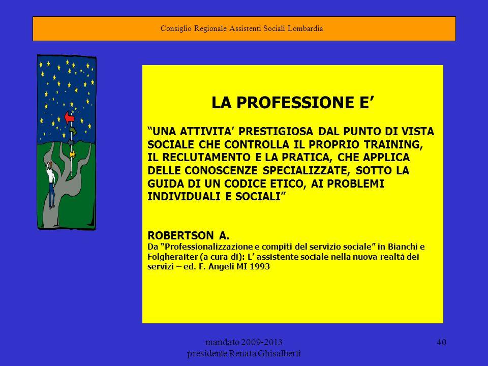 Consiglio Regionale Assistenti Sociali Lombardia