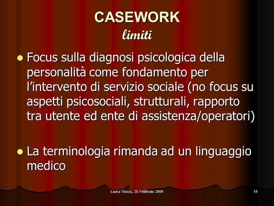 CASEWORK limiti