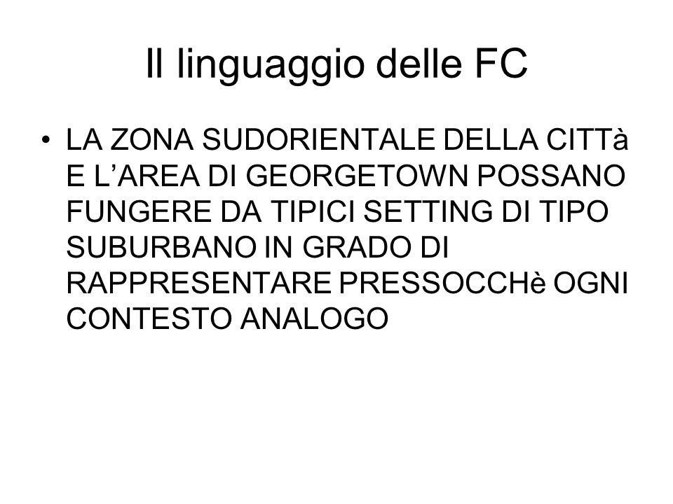 Il linguaggio delle FC