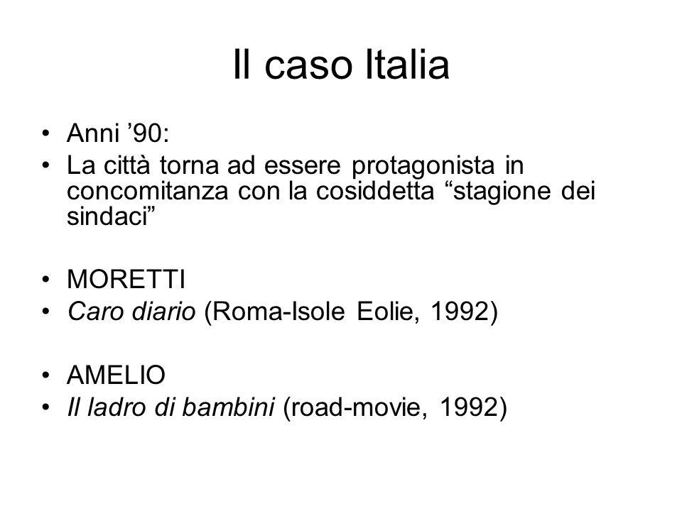 Il caso Italia Anni '90: La città torna ad essere protagonista in concomitanza con la cosiddetta stagione dei sindaci