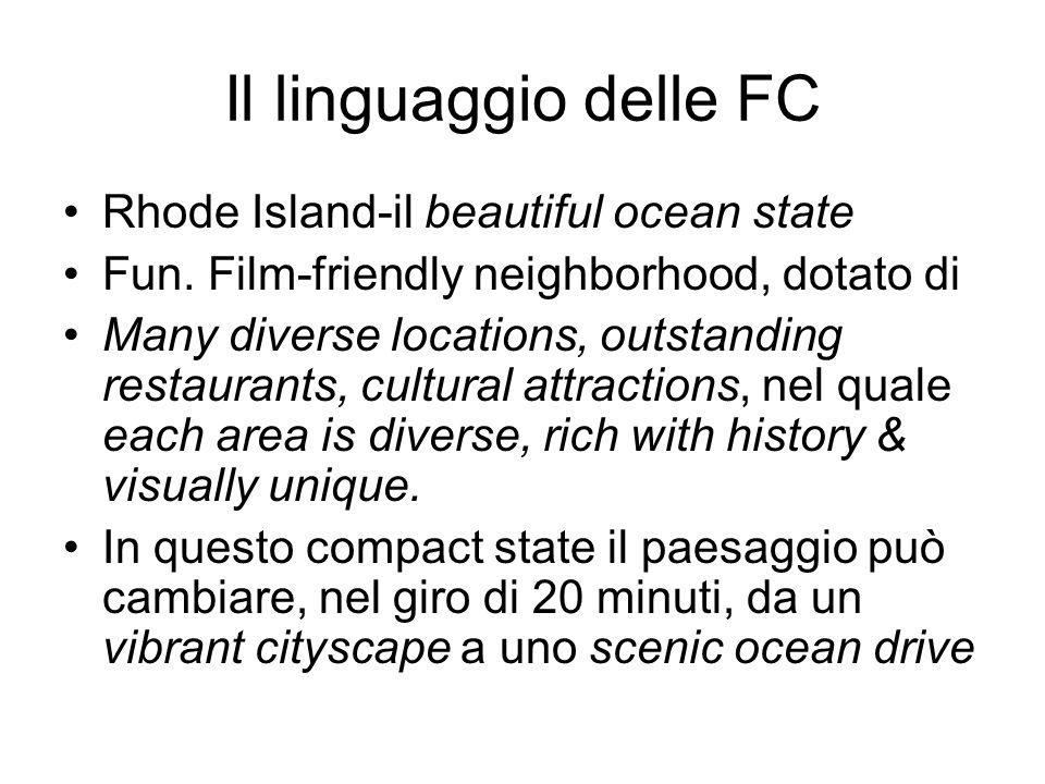 Il linguaggio delle FC Rhode Island-il beautiful ocean state