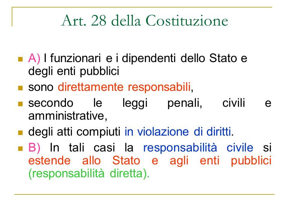 Art. 28 della Costituzione