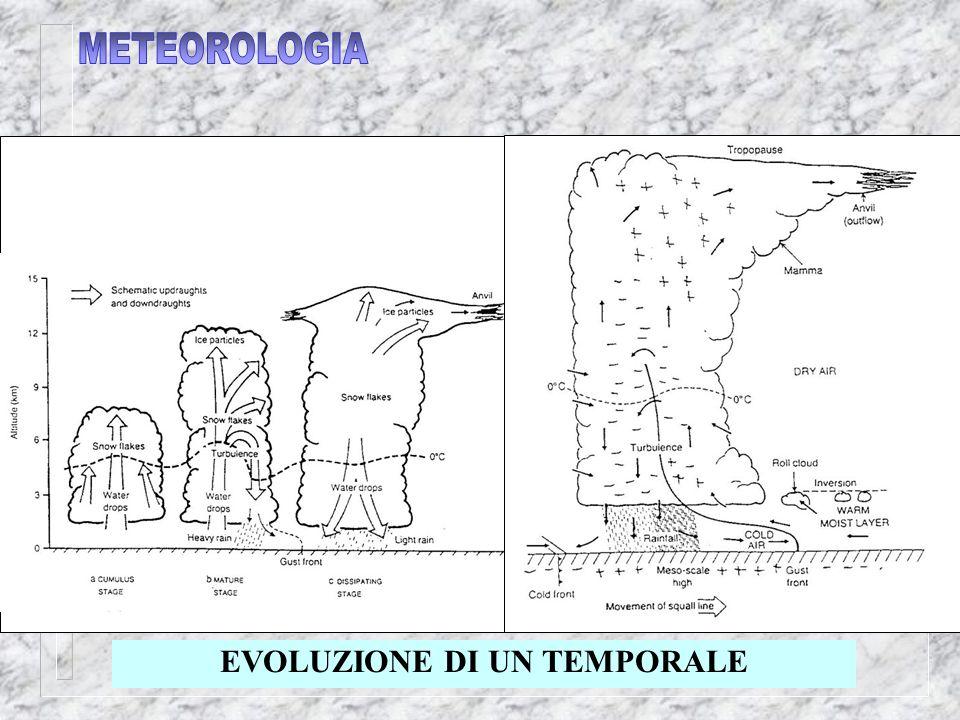 EVOLUZIONE DI UN TEMPORALE