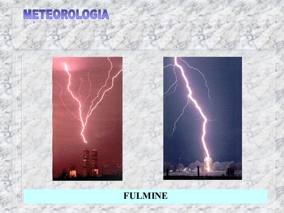 METEOROLOGIA FULMINE