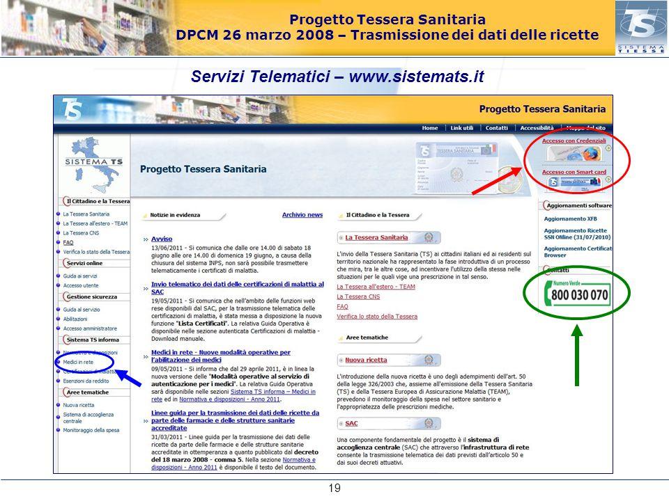 Servizi Telematici – www.sistemats.it