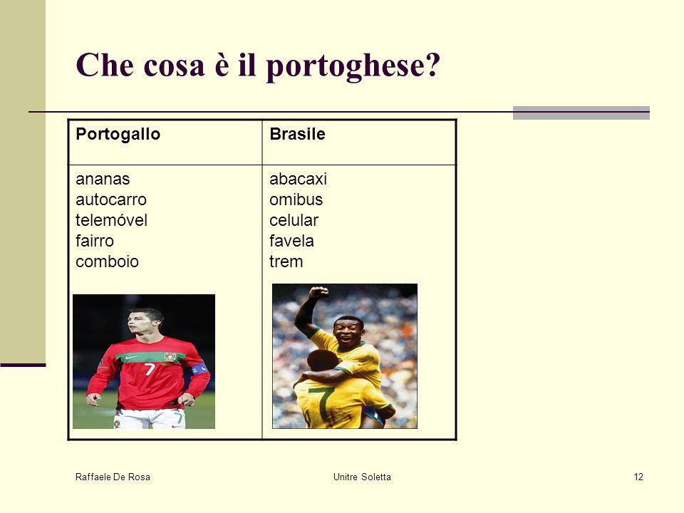 Che cosa è il portoghese