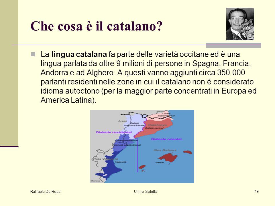 Che cosa è il catalano