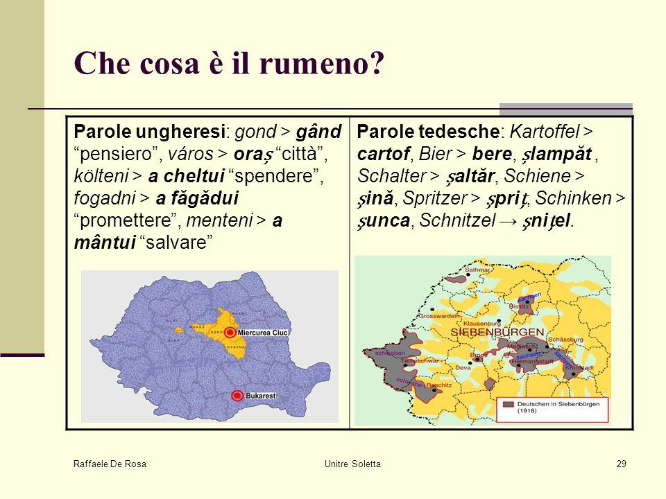 Che cosa è il rumeno