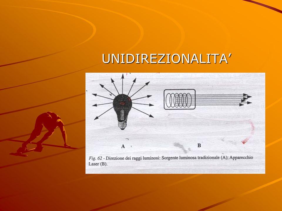 UNIDIREZIONALITA'