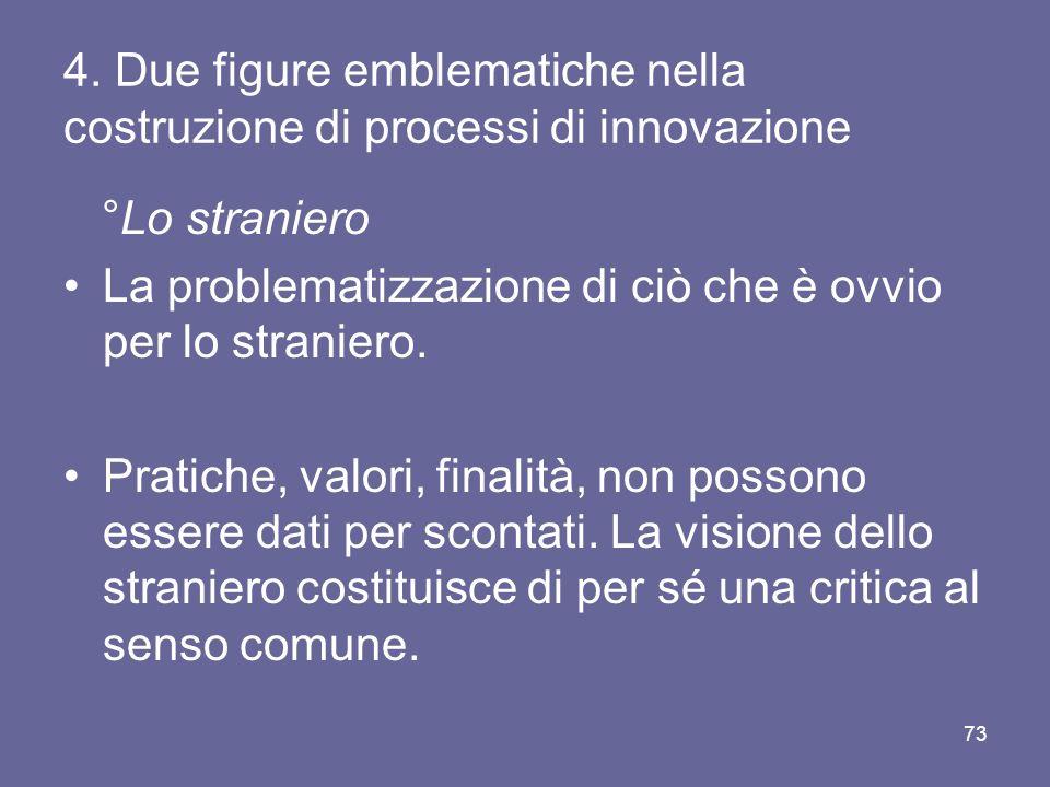 4. Due figure emblematiche nella costruzione di processi di innovazione