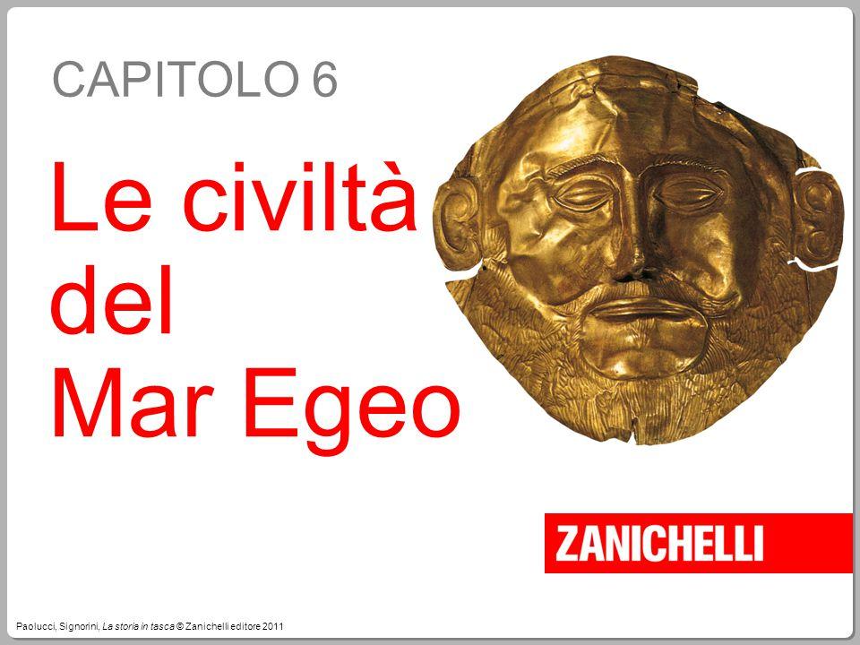 Le civiltà del Mar Egeo CAPITOLO 6