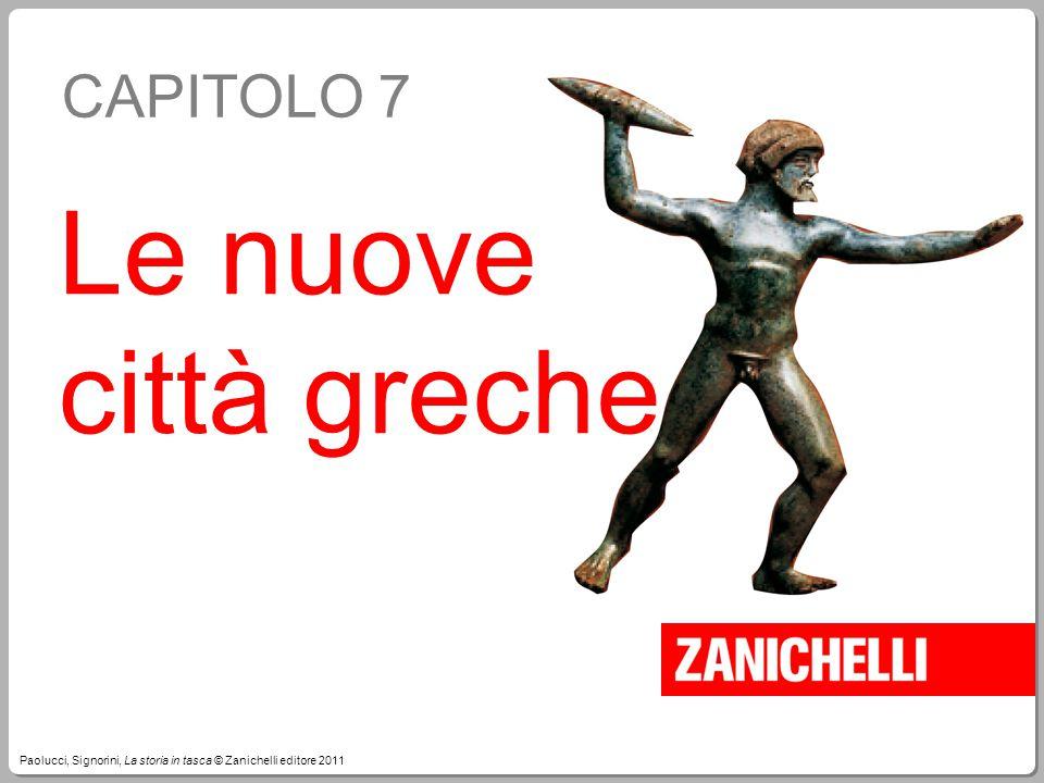 Le nuove città greche CAPITOLO 7