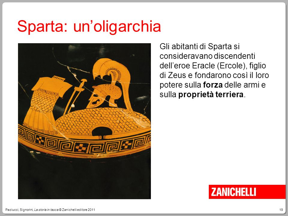 Sparta: un'oligarchia