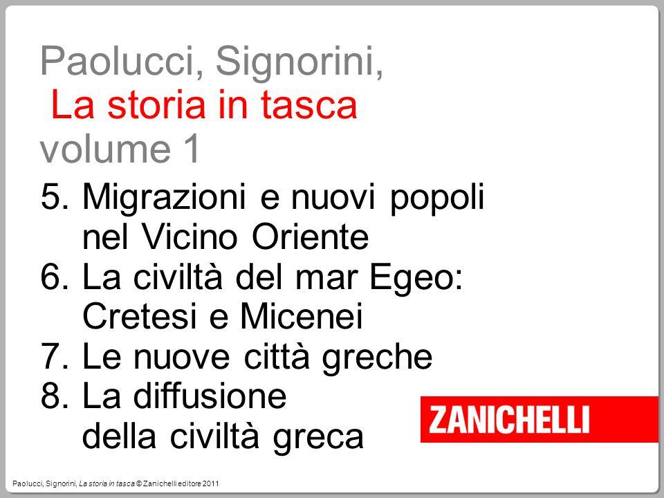 Paolucci, Signorini, La storia in tasca volume 1