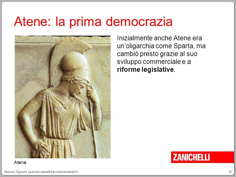 Atene: la prima democrazia