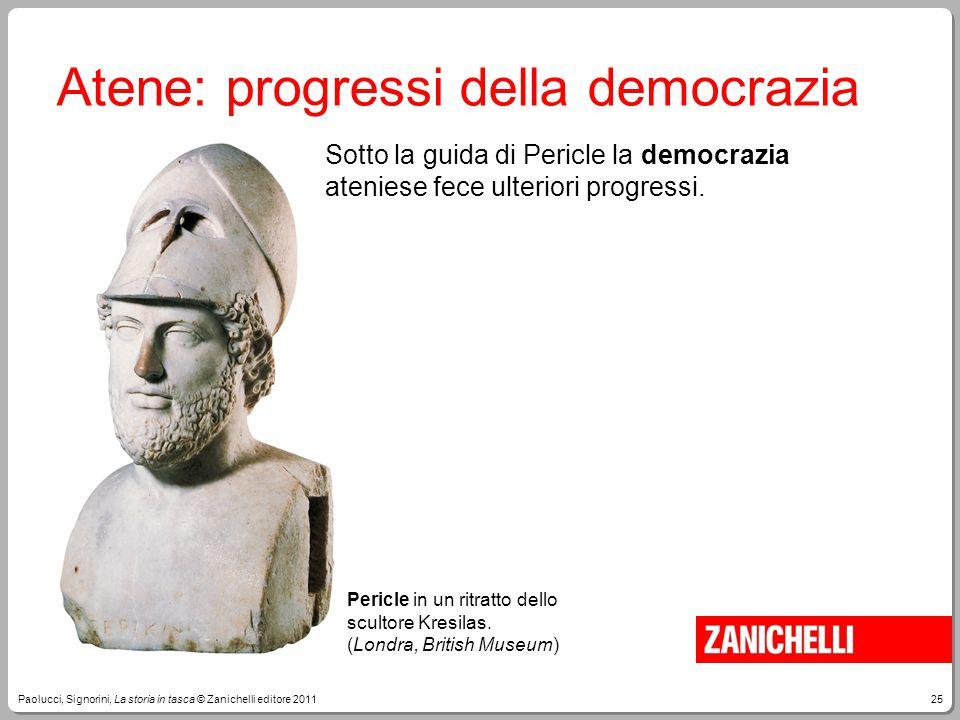 Atene: progressi della democrazia