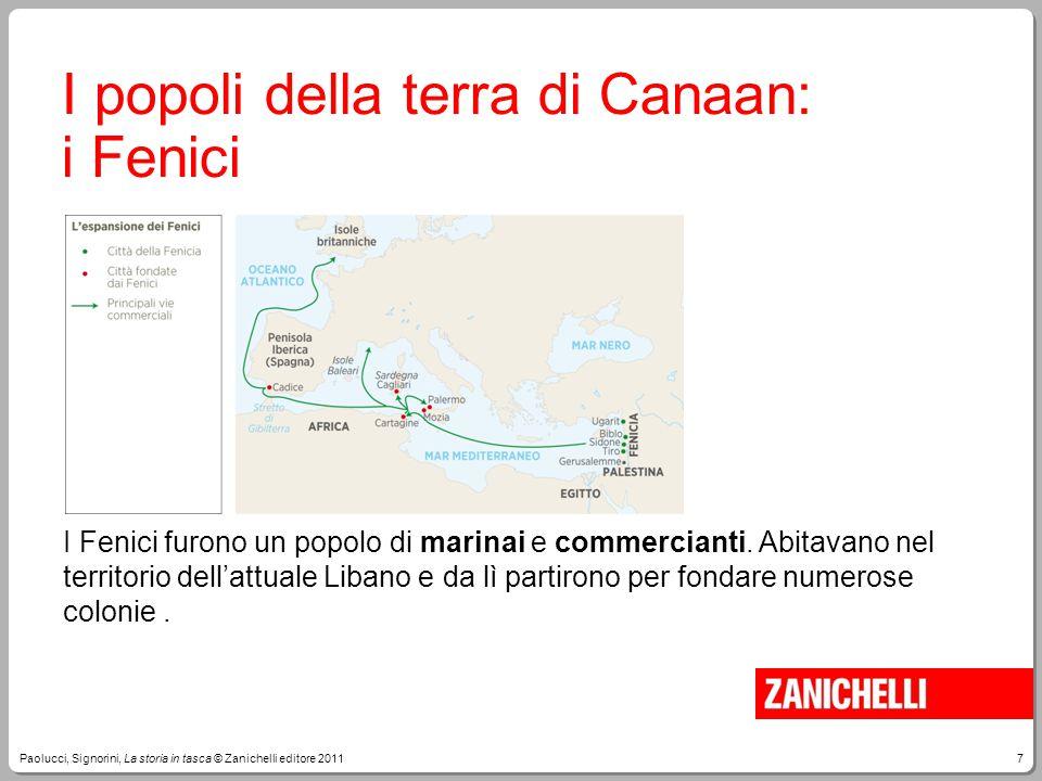 I popoli della terra di Canaan: i Fenici
