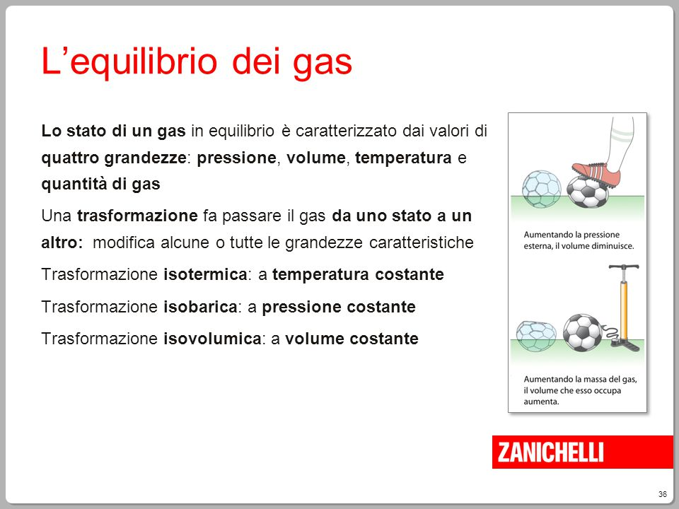 L'equilibrio dei gas