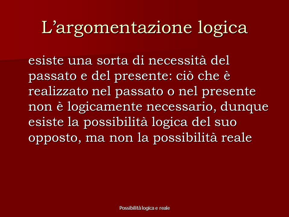 L'argomentazione logica