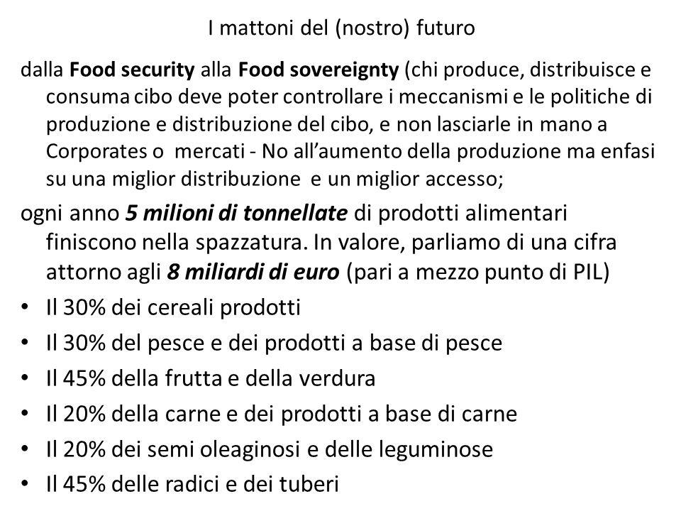 I mattoni del (nostro) futuro