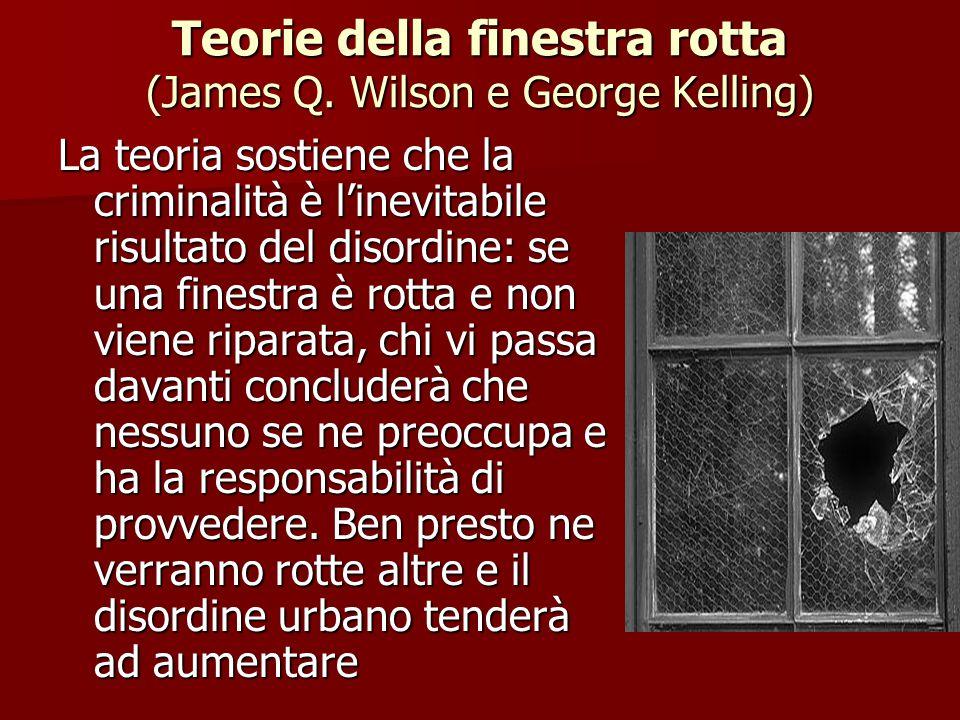 Teorie della finestra rotta (James Q. Wilson e George Kelling)