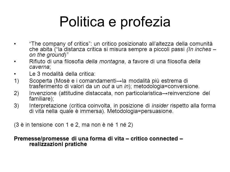 Politica e profezia