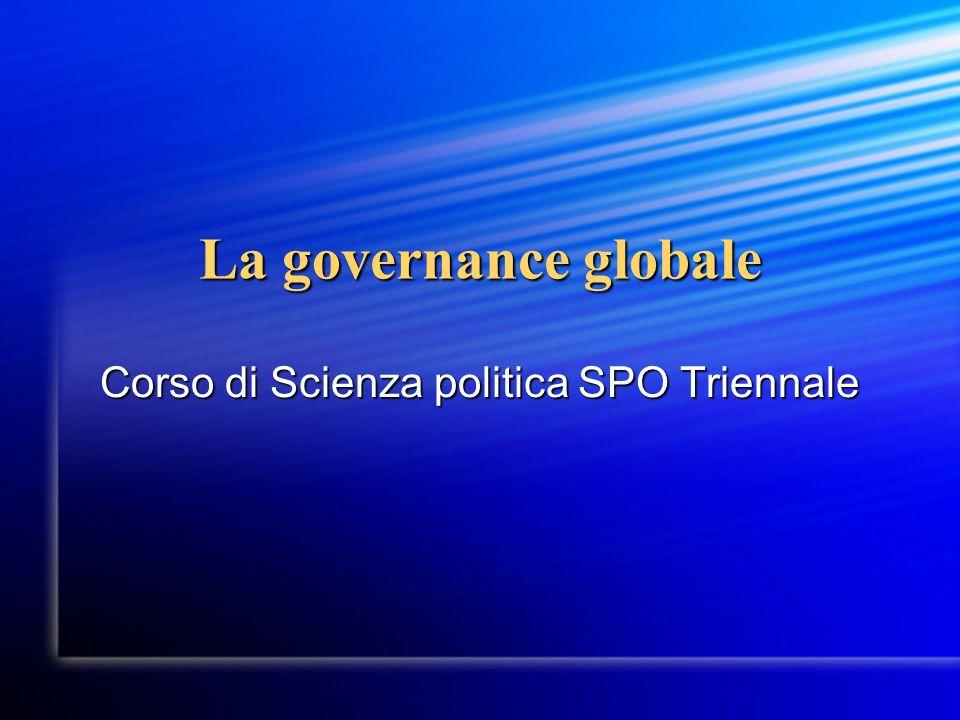 Corso di Scienza politica SPO Triennale