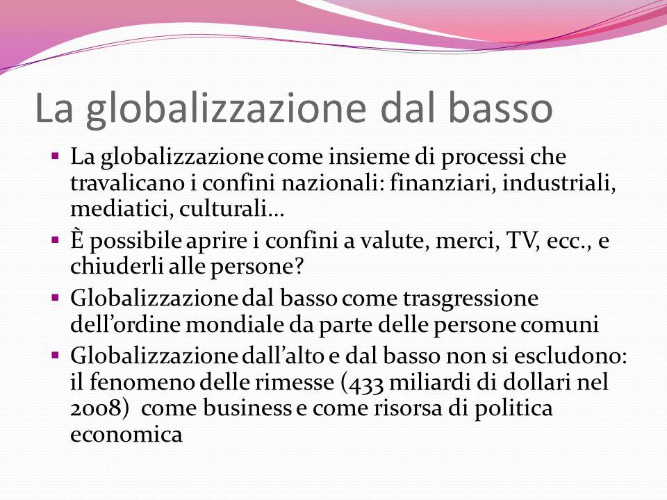 La globalizzazione dal basso