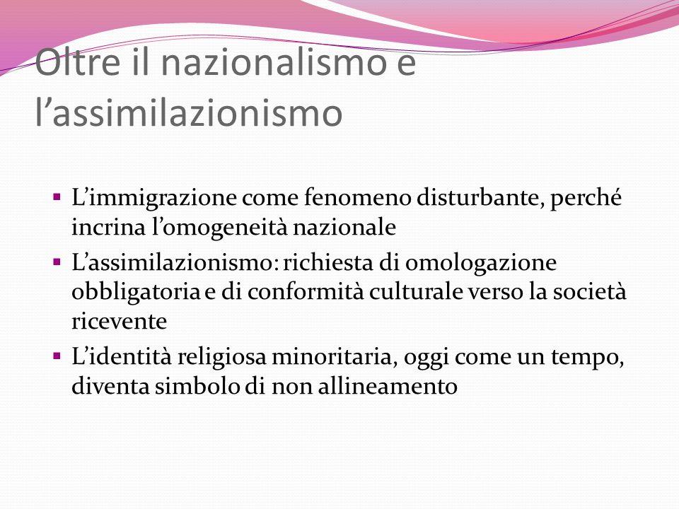Oltre il nazionalismo e l'assimilazionismo