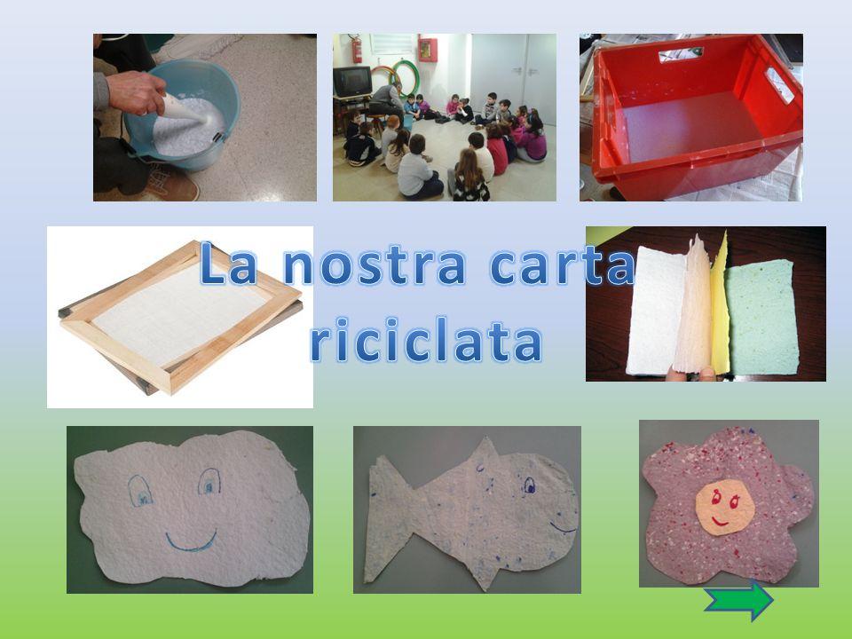 La nostra carta riciclata
