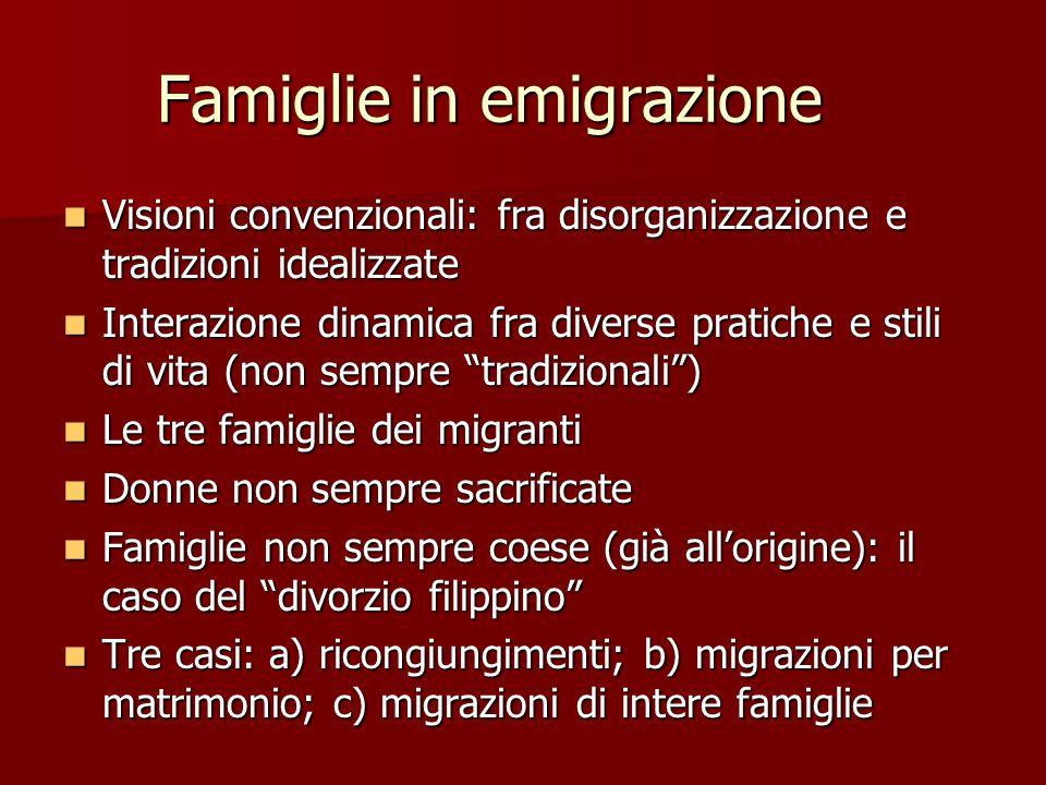 Famiglie in emigrazione