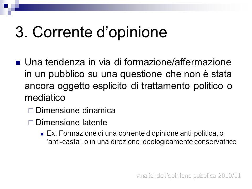 3. Corrente d'opinione