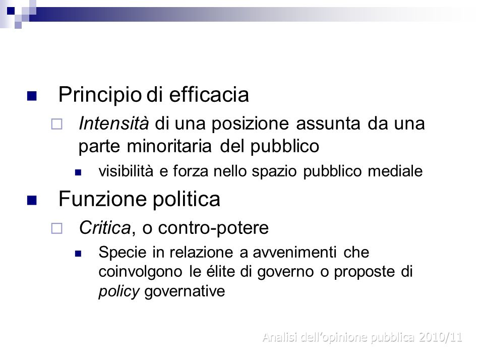 Principio di efficacia
