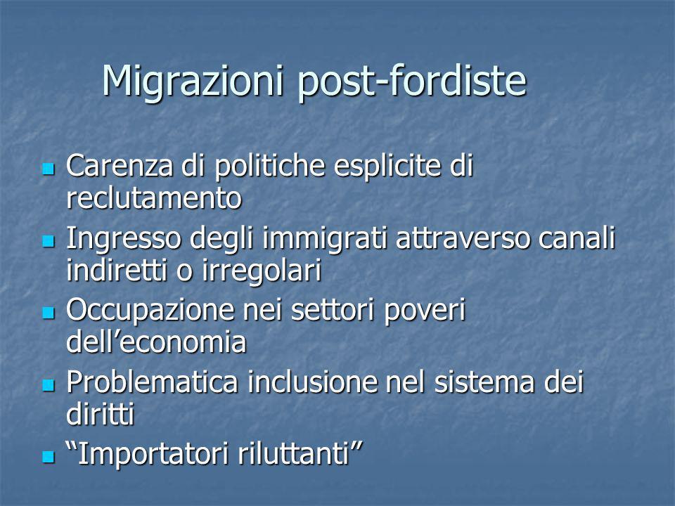 Migrazioni post-fordiste