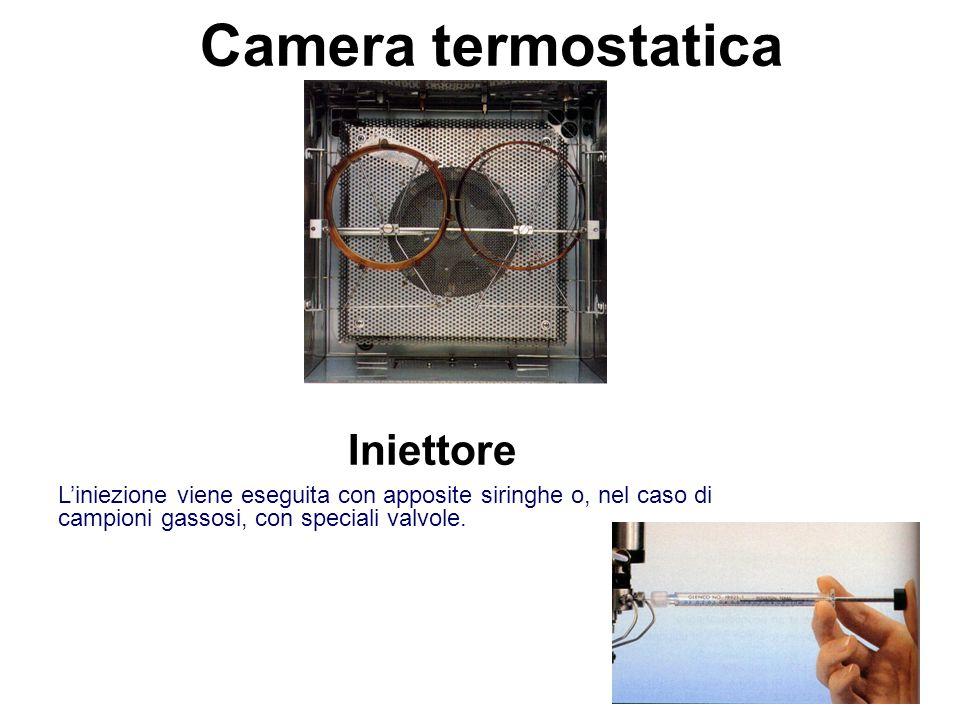 Camera termostatica Iniettore