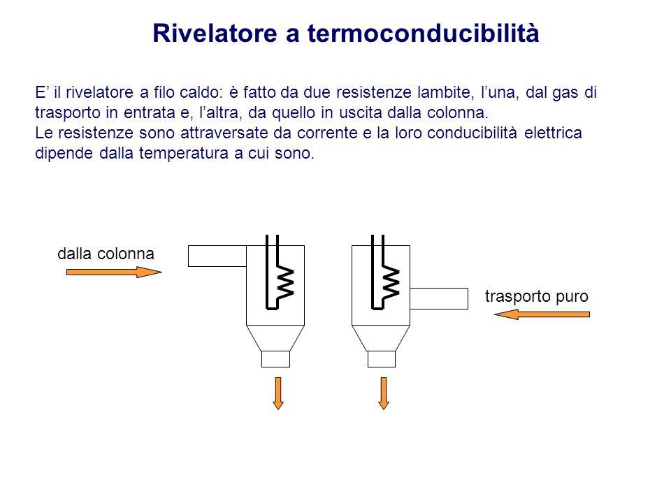 Rivelatore a termoconducibilità