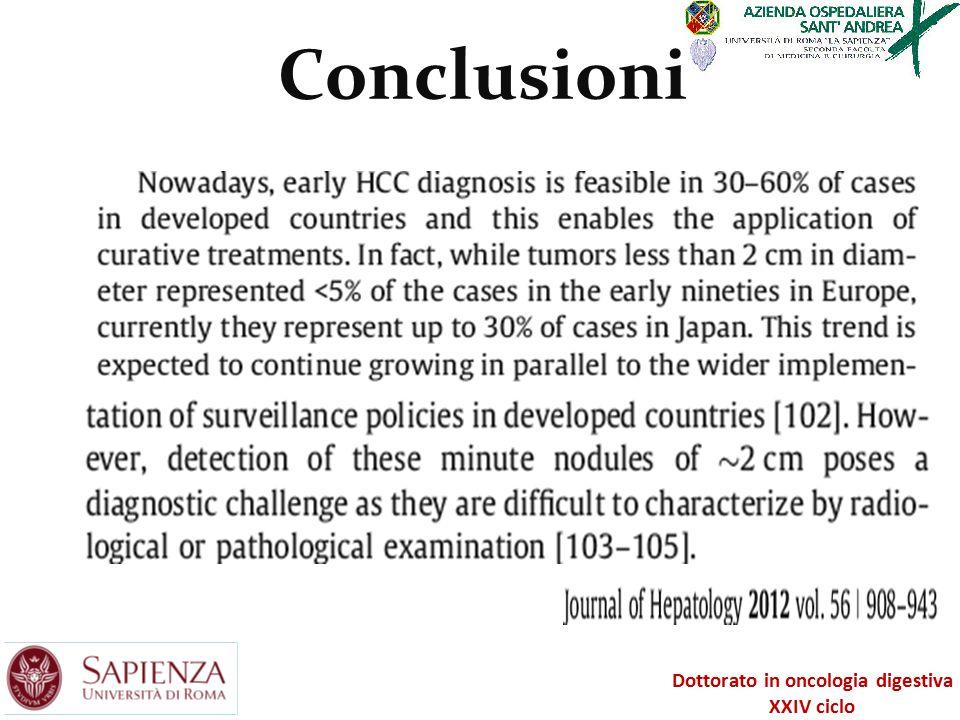 Dottorato in oncologia digestiva XXIV ciclo