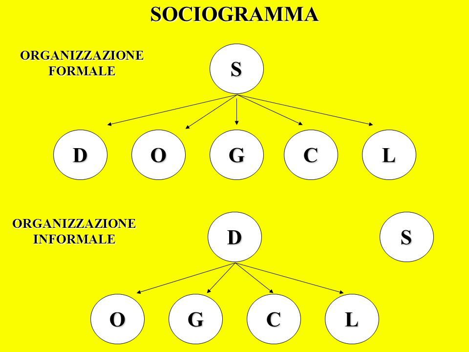 SOCIOGRAMMA S D O G C L D S O G C L