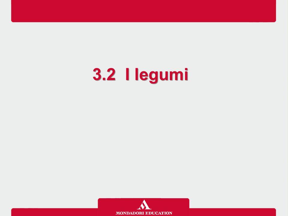 3.2 I legumi