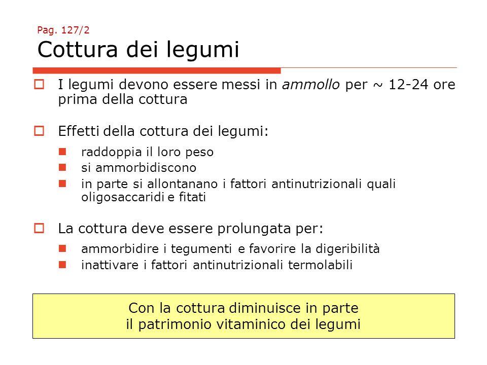 Pag. 127/2 Cottura dei legumi